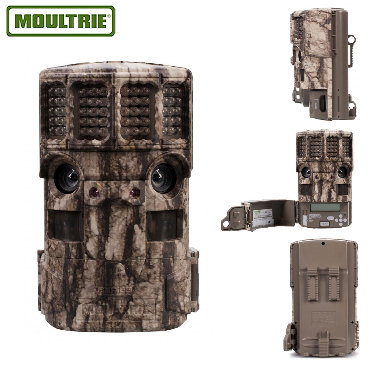 Moultrie P-120i Panoramic Game Camera - Bark Camo