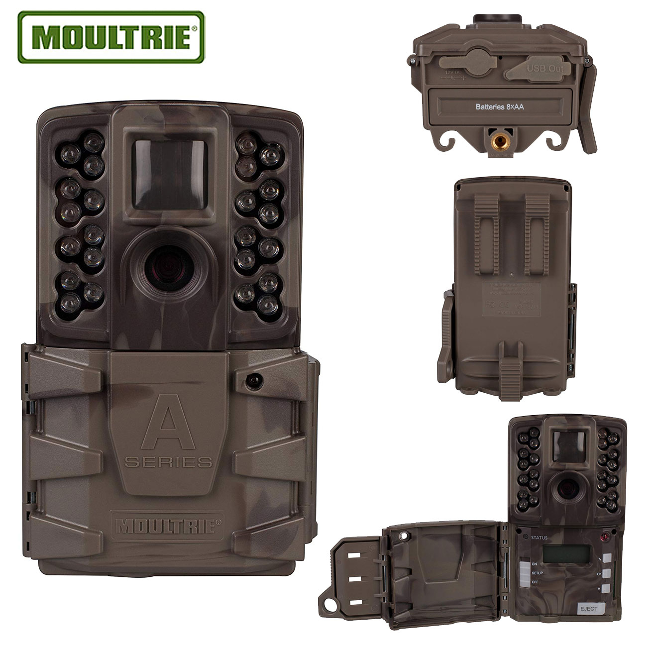 Moultrie A-40 Pro Game Camera - Smoke Screen Camo