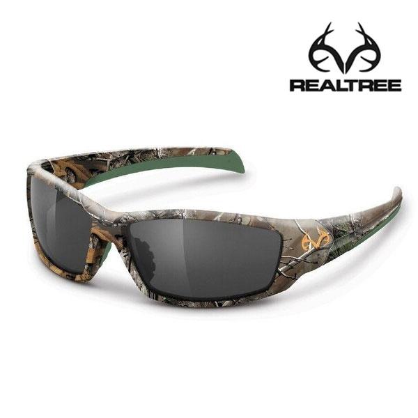Realtree Trapline Polarized Sunglasses- RTX/Smoke