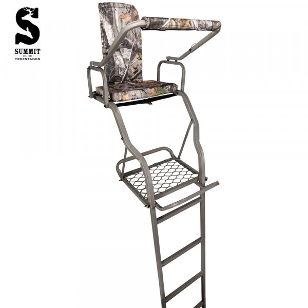 summit solo deluxe ladder tree stand