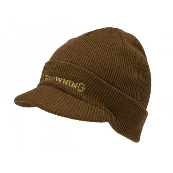Browning Bismark Brimmed Beanie Wing Supply