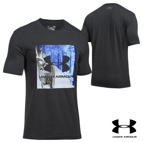 b8e5eb644 Under Armour King of the Forest T-Shirt - Black Medium Heather | Wing Supply