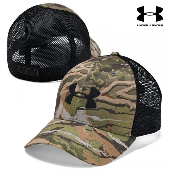 hot sales 6e6f4 156b8 Under Armour Hunt Stretch Mesh Back Cap (L XL)